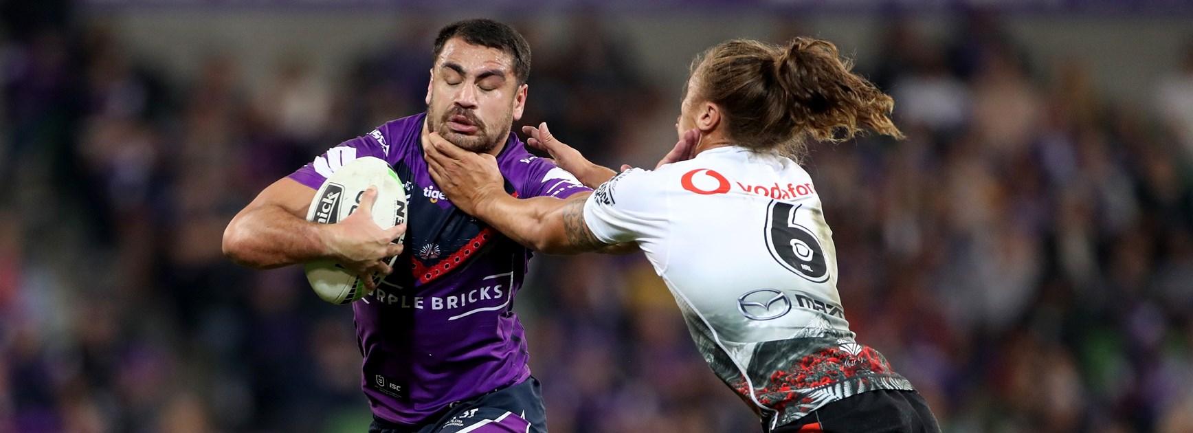 Slater in ear of Hughes to get fullback to speak up