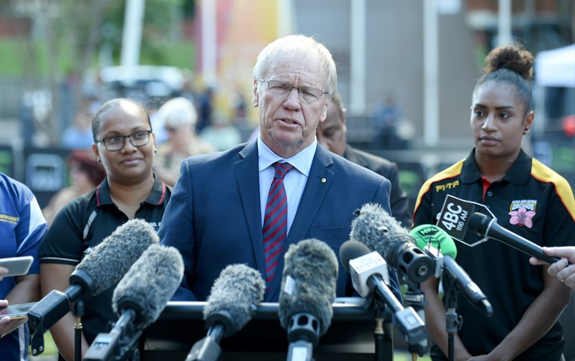 ARLC chairman Peter Beattie.