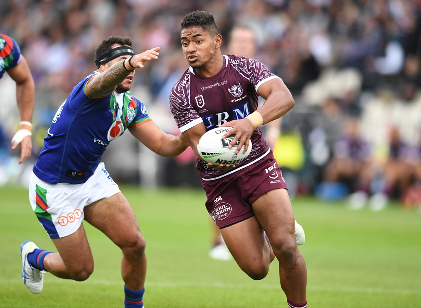 Sea Eagles hooker Manase Fainu.