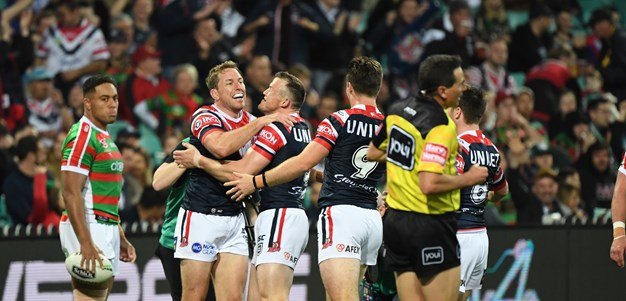 Rampaging Roosters ride roughshod over Rabbitohs
