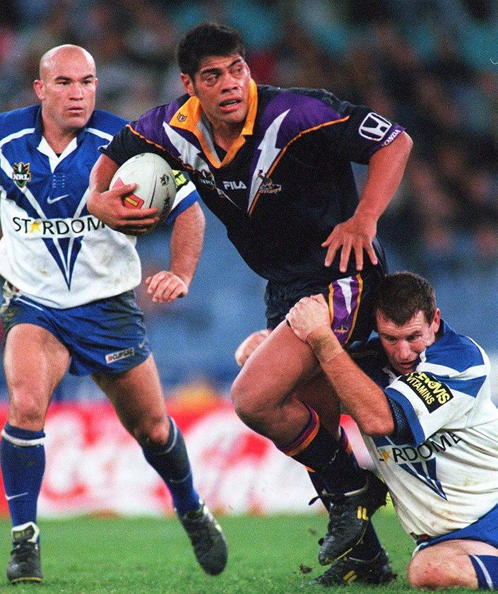 Stephen Kearney during his playing days with the Storm.
