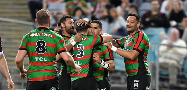 Rabbitohs dig deep to eliminate Sea Eagles in finals thriller