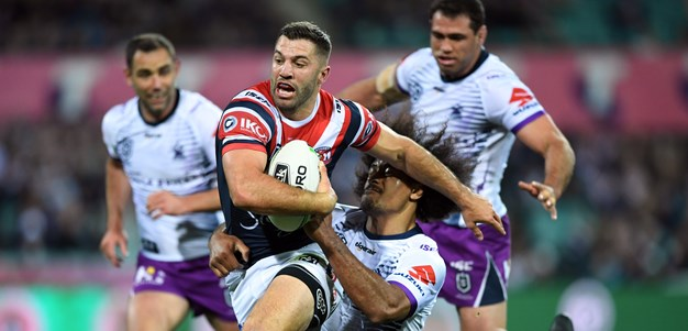 Roosters vanquish Storm to lock in grand final showdown with the Raiders