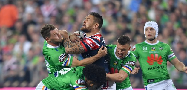 A modern-day rivalry: Roosters v Raiders
