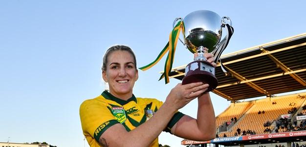 October 9: Australia win World Cup; Brigginshaw gets top job