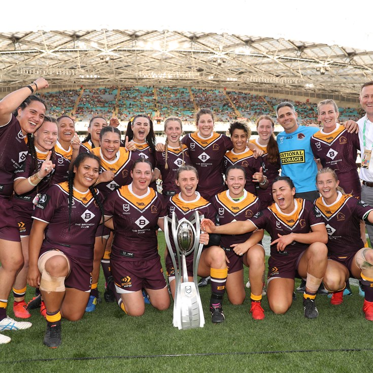 Three-peat not driving Broncos in NRLW grand final