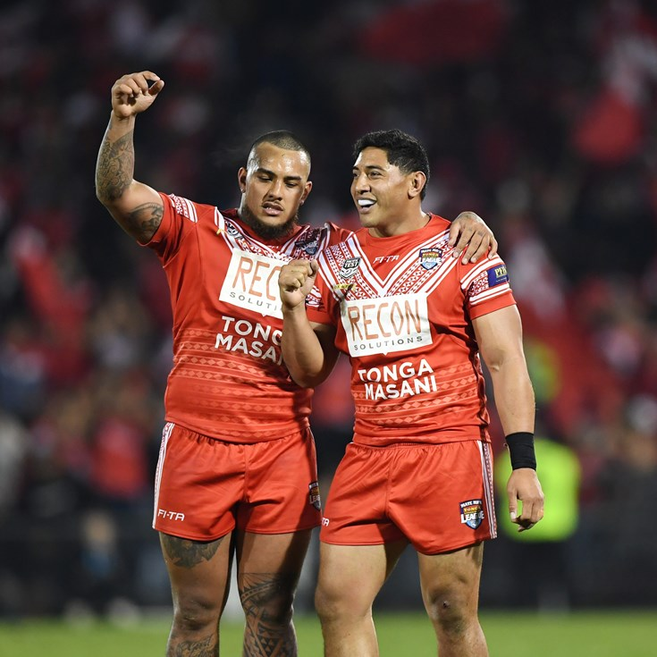 Cowboys duo named for Tonga's end-of-season Tests