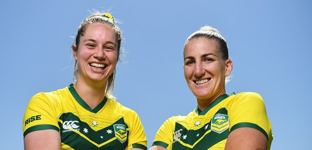 Jillaroos spoilt for leaders as Ali and Apps share captaincy
