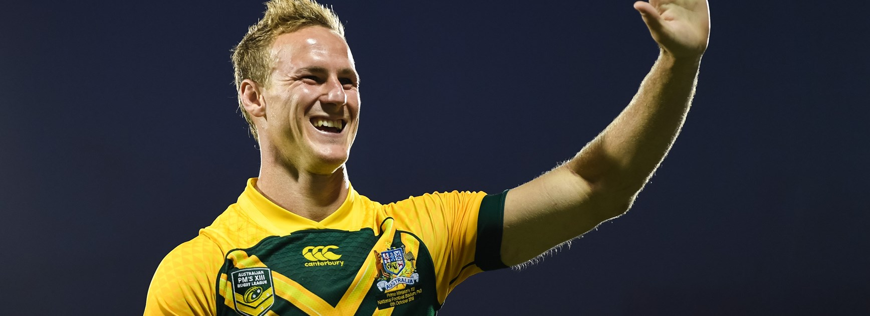Daly Cherry-Evans after playing with the Prime Minister's XIII in 2018.