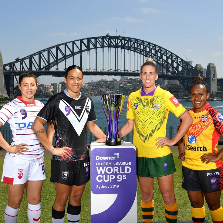 Why equal pay means so much to female World Cup 9s stars