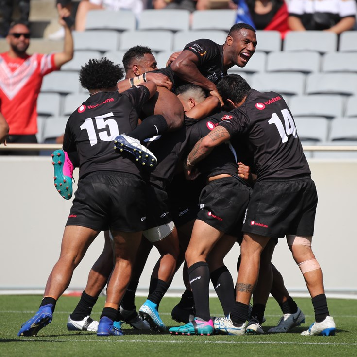 Samoa Beaten by Fiji