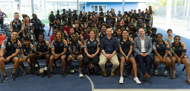 NRL Cowboys House changing lives