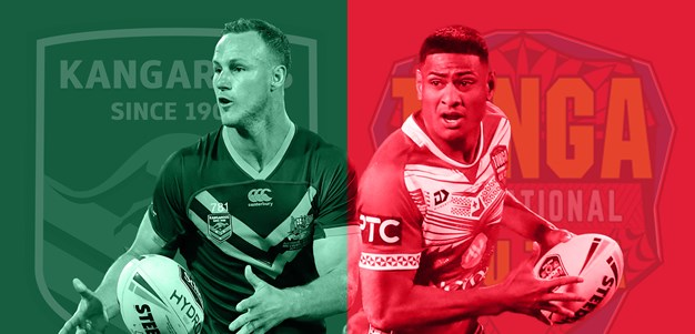 Kangaroos v Tonga Invitational preview