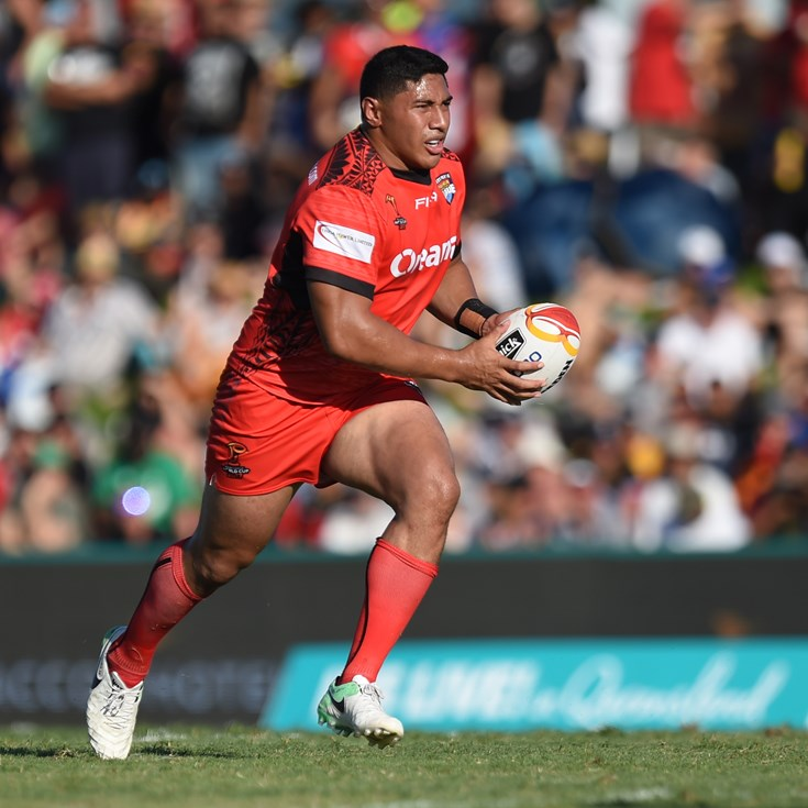 Three Cowboys named in Tonga's World Cup 9s squad