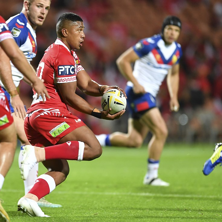Young Bronco Stars In Tongan Test Debut