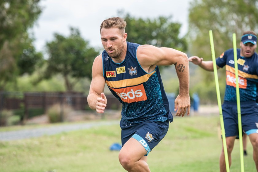 Gold Coast utility Bryce Cartwright.