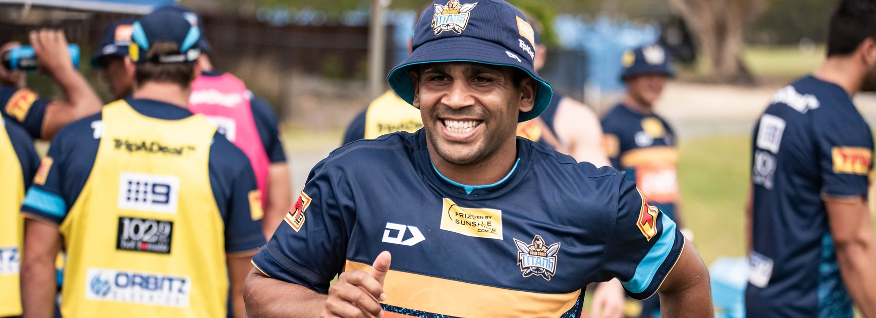Titans recruit Tyrone Peachey.
