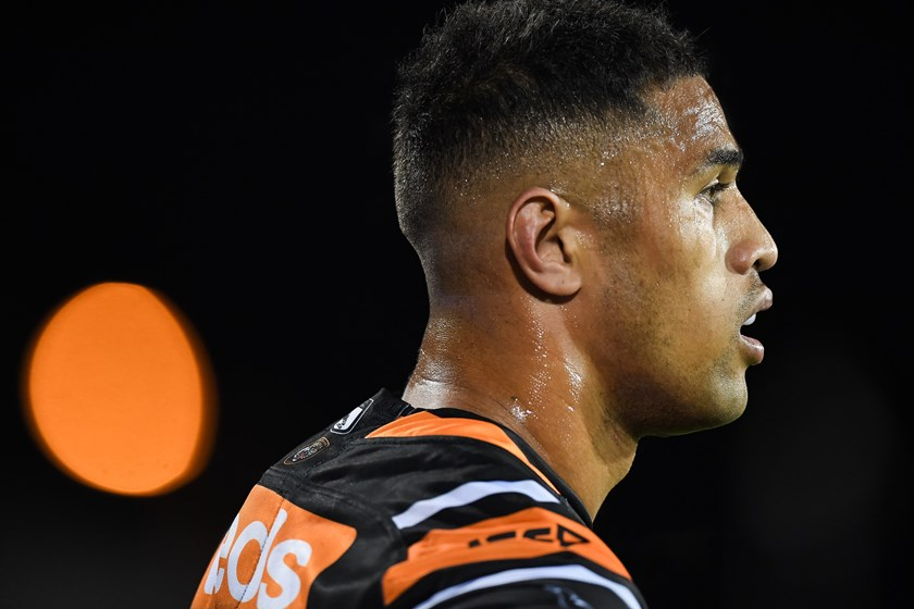 Wests Tigers back-rower Michael Chee-Kam.