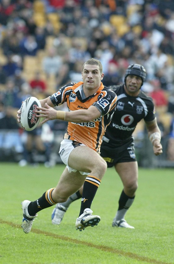 Robbie Farah in action for the Tigers in 2007.