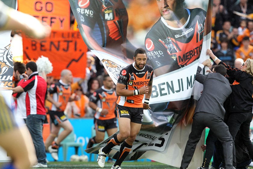 Wests Tigers great Benji Marshall.