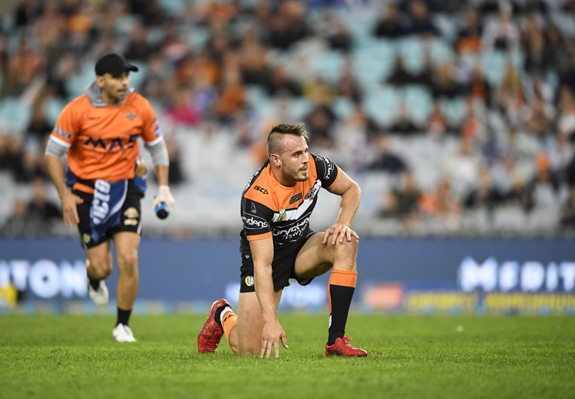Wests Tigers playmaker Josh Reynolds.