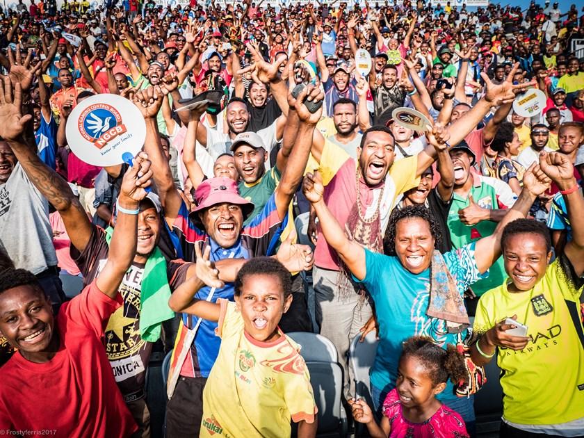 Papua New Guinea fans.
