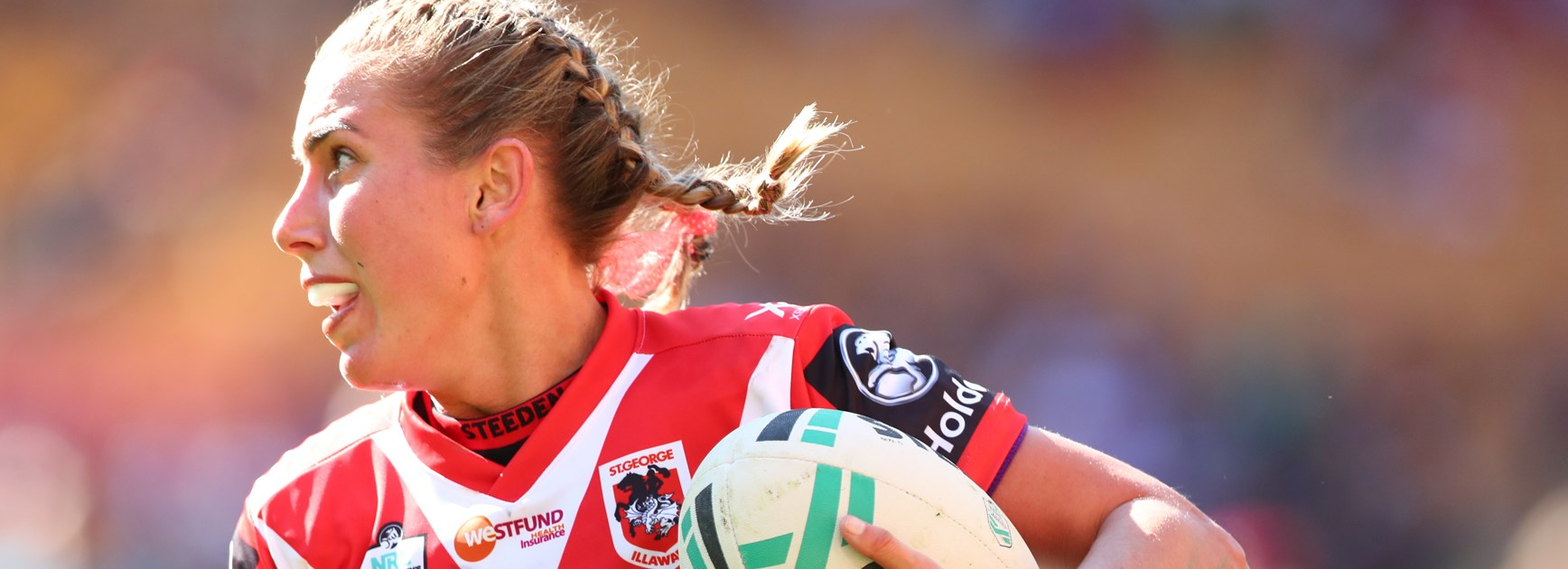 Dragons NRLW star Sam Bremner.