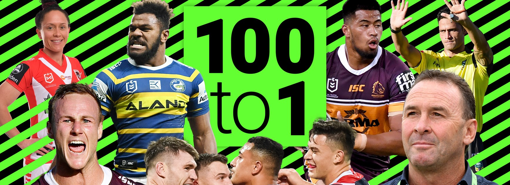 100-1: The numbers that defined the 2019 NRL season