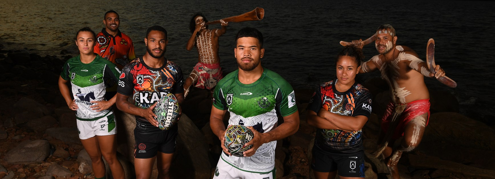 The men's and women's All Stars will clash in Townsville on February 20.