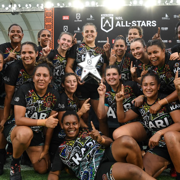 Dragons help lead Indigenous Women's All Stars to glory