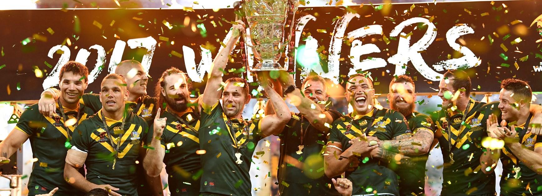 Australia claimed the 2017 World Cup.