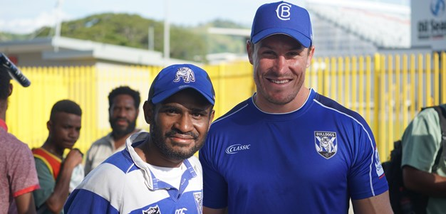 Bulldogs & Sharks receive warm welcome in PNG