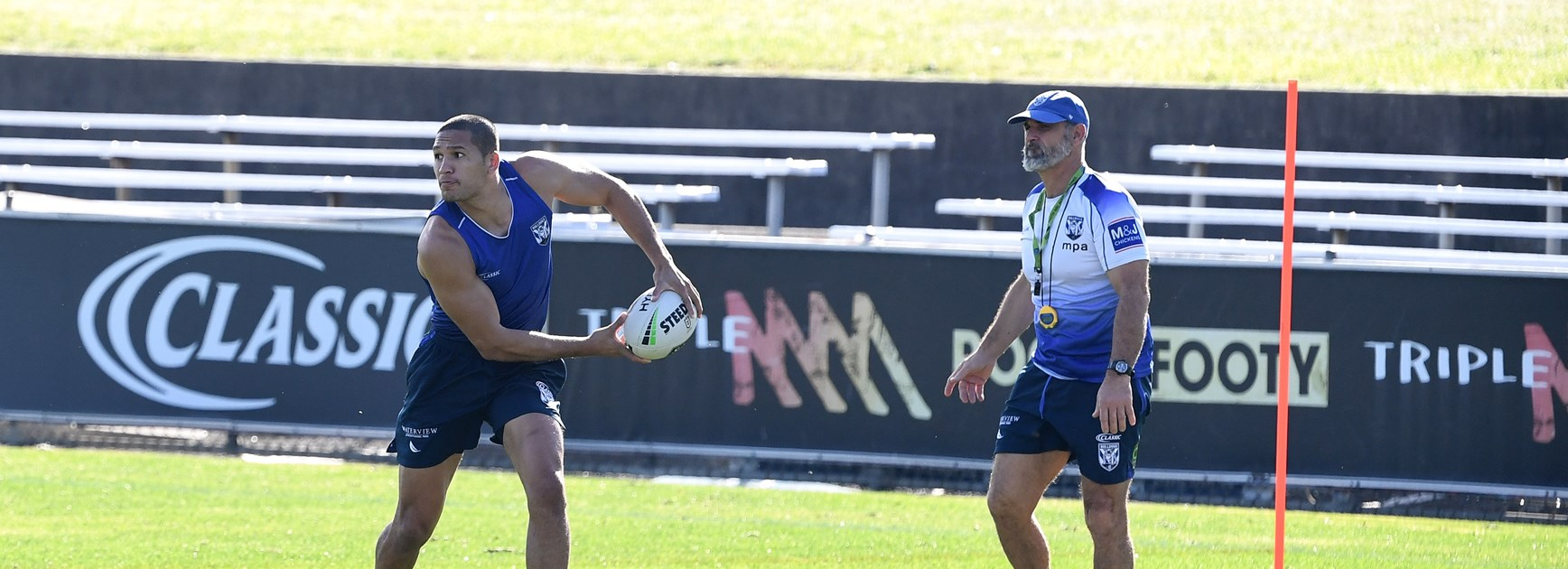 Fullback and forth: DWZ and Hopoate to share roles, says Pay
