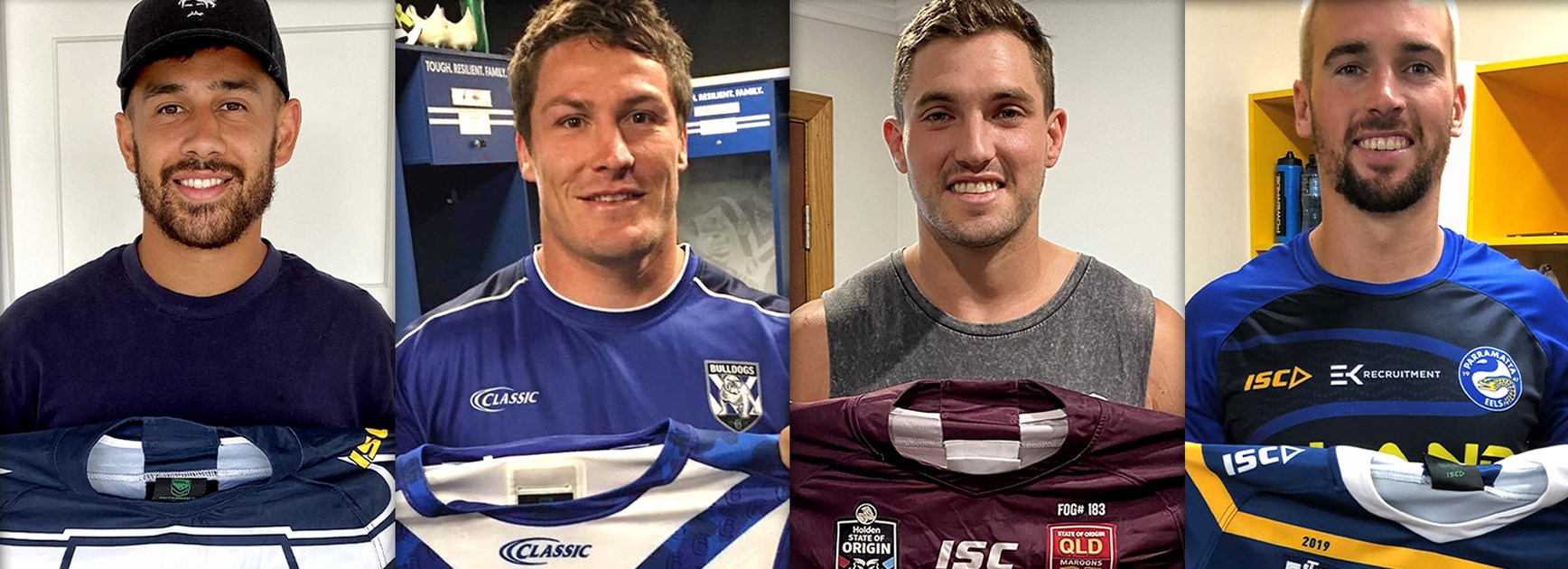 NRL stars auction jerseys to support Bushfire appeal