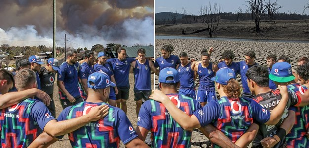 Warriors pledge support to battling NSW Town