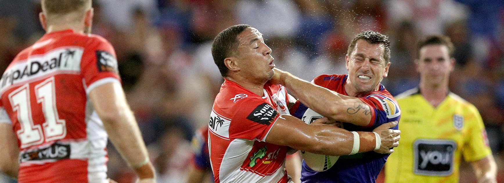 Frizell set for switch after Knights sway Dragons star