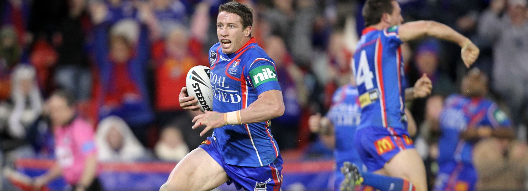 Super-fit Gidley thrilled to pull on beloved Knights jersey again