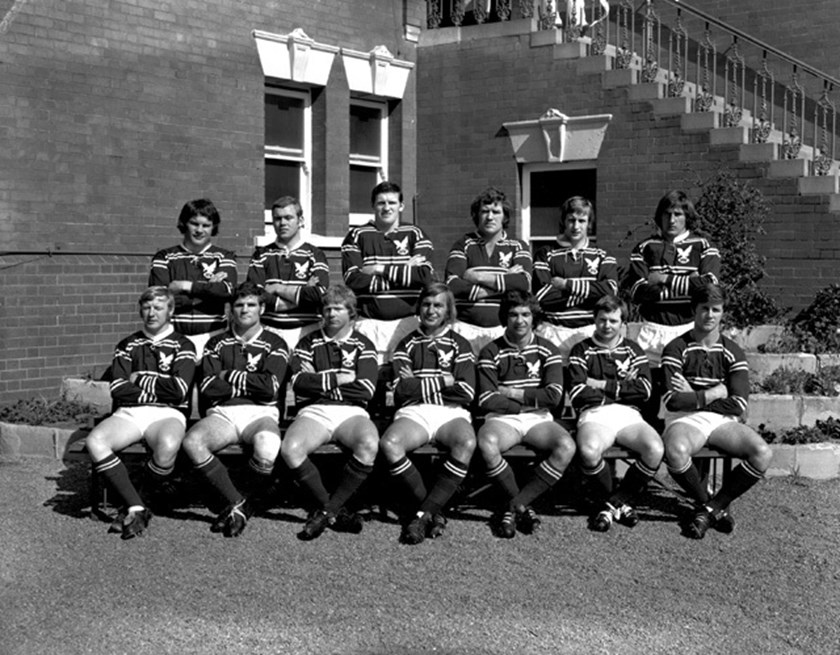 The 1972 Manly side that claimed the club's maiden grand final with a 19-14 win over Eastern Suburbs.