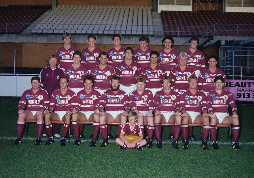 The 1987 Sea Eagles who beat the Roosters in the playoffs before toppling Canberra in the grand final.