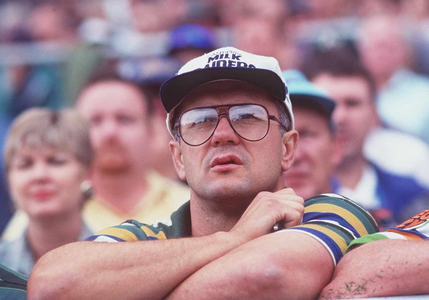 Dean Lance in 1995 during his stint coaching in Canberra's lower grades.