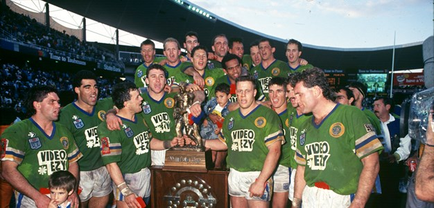 1990 grand final rewind: Canberra's 'forgotten' win over Penrith