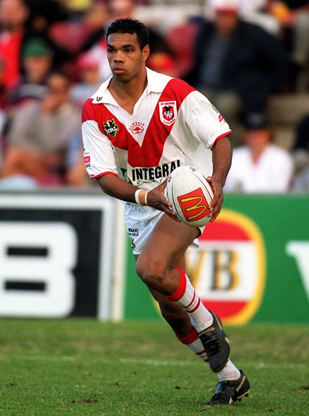Amos Roberts started his career in style with St George Illawarra in 2000.