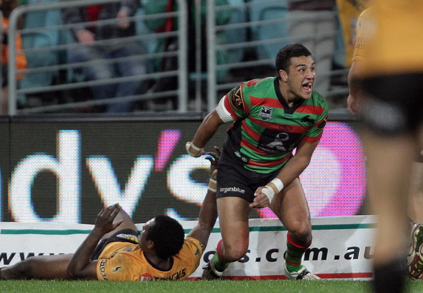 Dylan Farrell burst onto the scene with Souths in 2010.