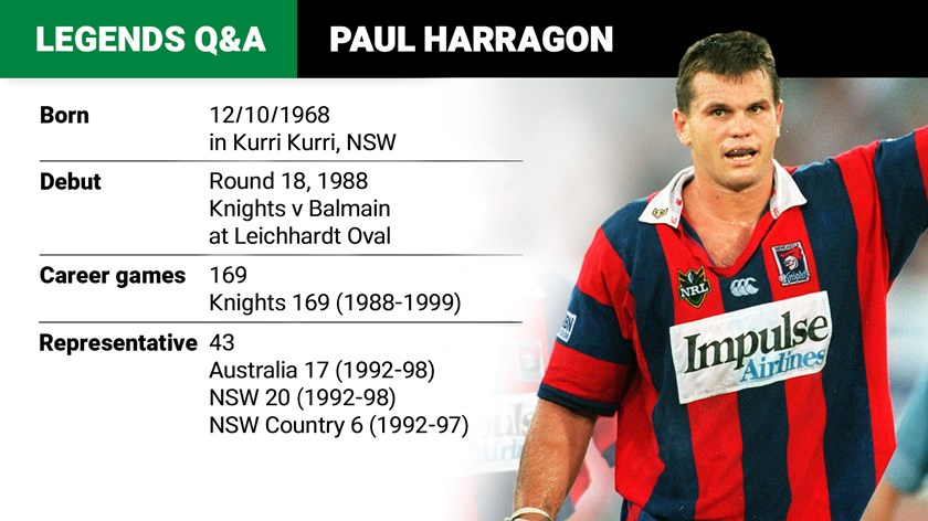 Harragon Q&A: Spudd, contracts and 1997