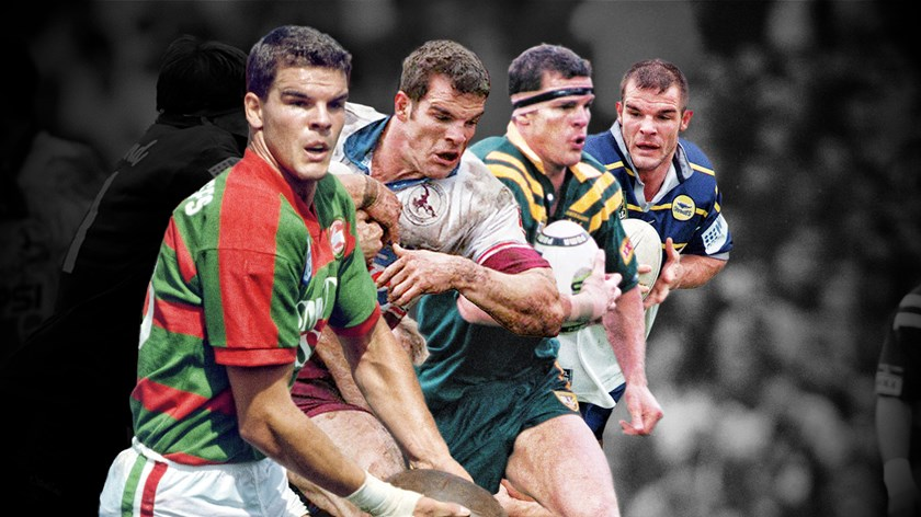 Ian Roberts was a colossal figure at club, state and Test level.
