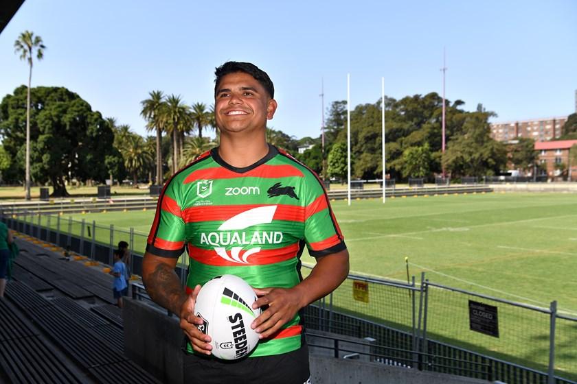 South Sydney recruit Latrell Mitchell.