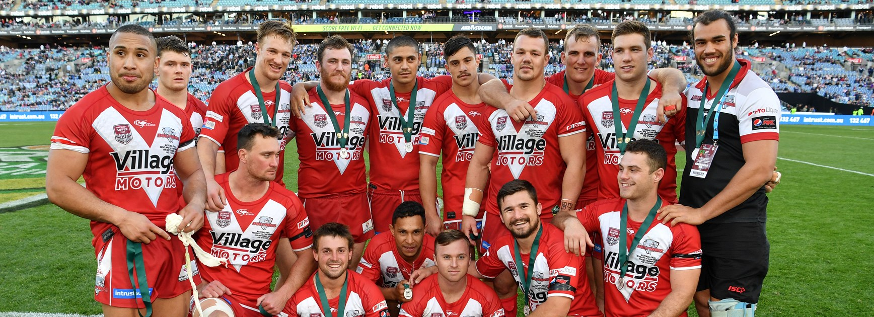 Redcliffe Dolphins' 2018 Intrust Super Cup winners lost the interstate clash.