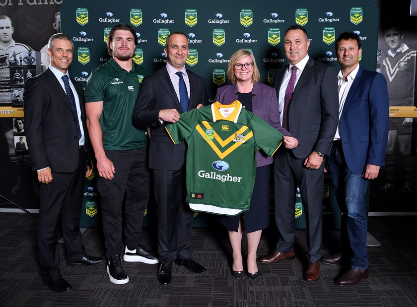 Gallagher has been announced as the Kangaroos' new naming rights partner.