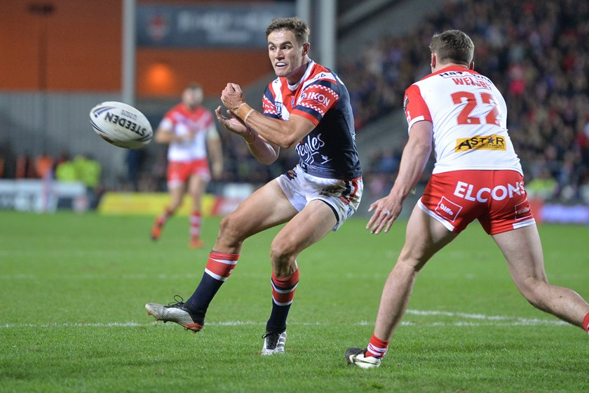 Roosters playmaker Kyle Flanagan.