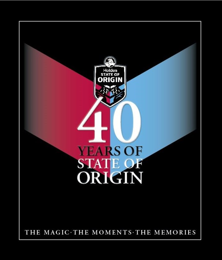 The cover of 40 Years of Origin.